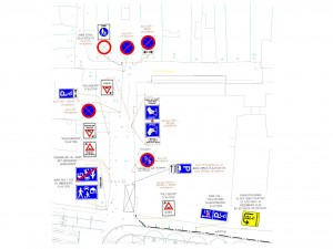 Bagijnestraat bebording (ID 114889)