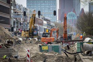 Den Haag, 8 april 2017. Raamweg