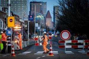 Den Haag, 26 maart 2017. Afzetting Raamweg